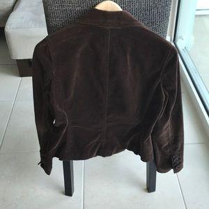 Vince Jackets & Coats - Vince velvet brown blazer